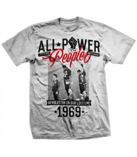 Camiseta All Power to the People - FREELIFE & BESTIARIO