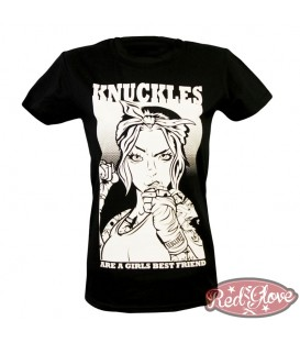 CAMISETA RG KNUCLES MUJER - Red Glove