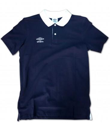 Polo Collar Pique Navy - UMBRO