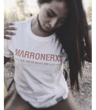 Camiseta Marronerxs White - Marronerxs