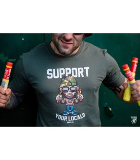 Camiseta Support Your Locals - PG WEAR