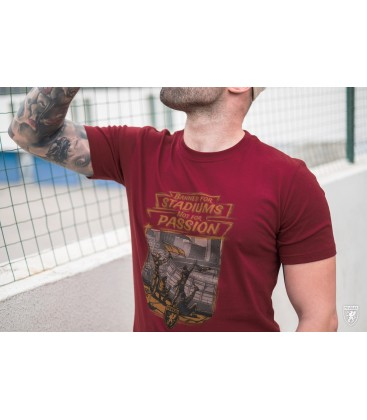 Camiseta Stadium Banned Maroon - PG WEAR