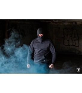 Ninja Hoodie Stealth Dark Grey - PG WEAR