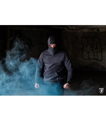Ninja Hoodie Stealth Dark Grey - PG WEAR
