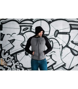 Full Face Hoodie Hool Grey - PG WEAR