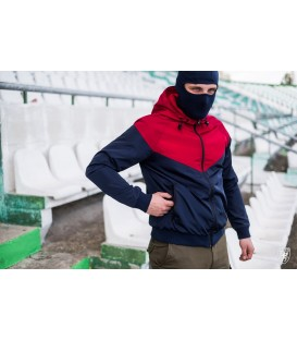 Full Face Jacket Invader Navy-Red - PG WEAR