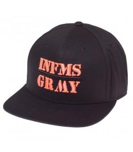 GORRA GRIMEY COUNTERATTACK SNAPBACK SS18 BLACK - GRIMEY