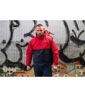 Full Face Jacket Riot Red/Blue - PG WEAR