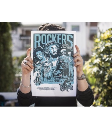ROCKERS POSTER - PULL UP WEAR