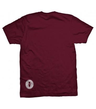 Camiseta Slum Cockroach Maroon – SlumWear