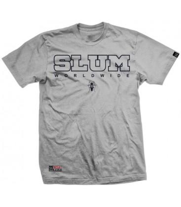 Camiseta Slum Cockroach Grey – SlumWear