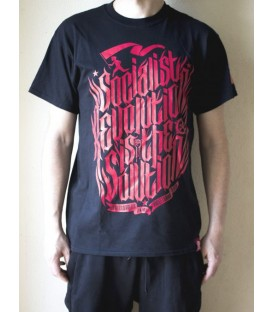 Camiseta Socialist Revolution Negra - Proletarian Clothing