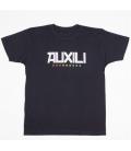 Camiseta Negra - Auxili