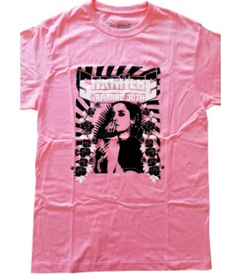 Camiseta Rosa - Sara Hebe