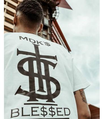 Camiseta En Fila Negra - MDK