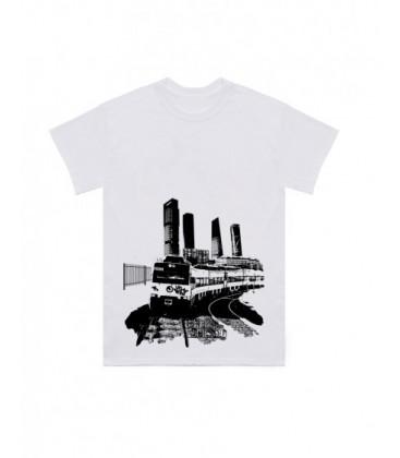 Camiseta Caballo Metalico Blanca - LA REJA