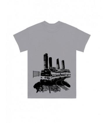 Camiseta Caballo Metalico Gris - LA REJA