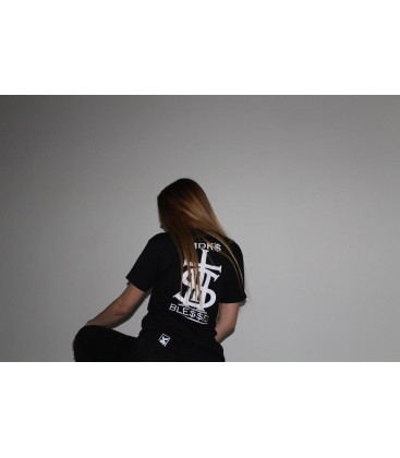 Camiseta Blessed Negra - MDK