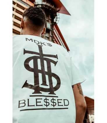 Camiseta Blessed Blanca - MDK
