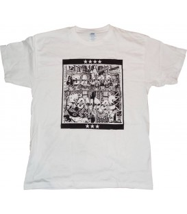 Camiseta Bajos Fondos - LA VERJA