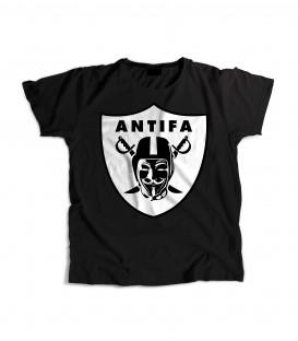Camiseta Chica Antifa - WE RESIST