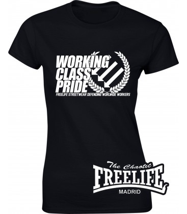 Camiseta Chica Working Class Pride - FREELIFE