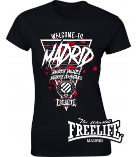 Camiseta Chica Welcome to Madrid - FREELIFE