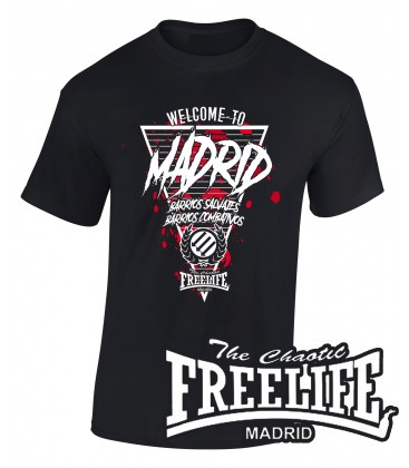 Camiseta Welcome to Madrid - FREELIFE