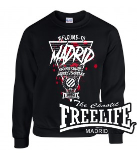 Sudadera Welcome to Madrid - FREELIFE