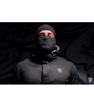 Full Face Hoodie Frontline`18 Black - PG WEAR