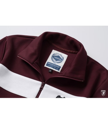 Retro Jacket Vintage Maroon - PG WEAR