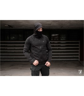 Full Face Softshell Jacket Shadow Black - PG WEAR