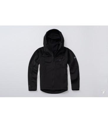 Full Face Softshell Jacket Combat Grey - PG WEAR