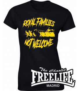 Camiseta Chica Royal Families - FREELIFE