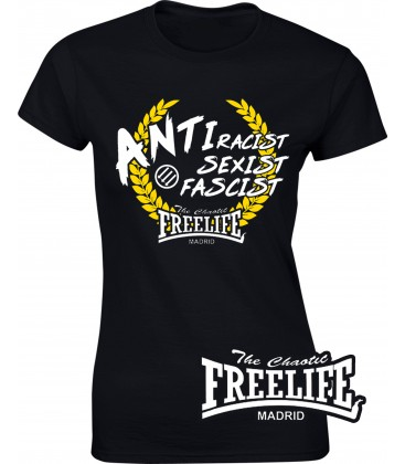 Camiseta Chica Antitodo - FREELIFE