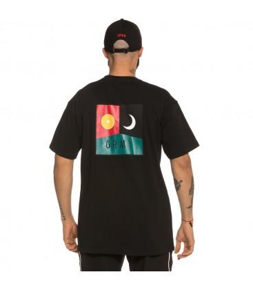 Camiseta Grimey Healing Touch Tee FW18 black - GRIMEY