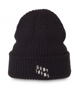 Gorro Grimey Healing Touch FW18 Black - GRIMEY
