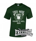 Camiseta Free Mode Verde - FREELIFE