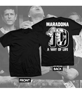 Camiseta Maradona A Way Of Life - WE RESIST