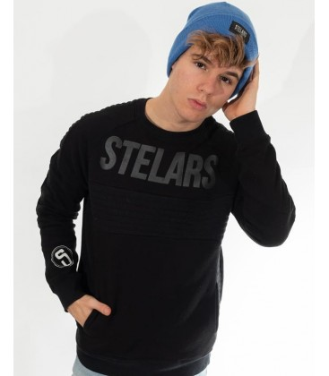 Sudadera All Black Crewneck - Stelars