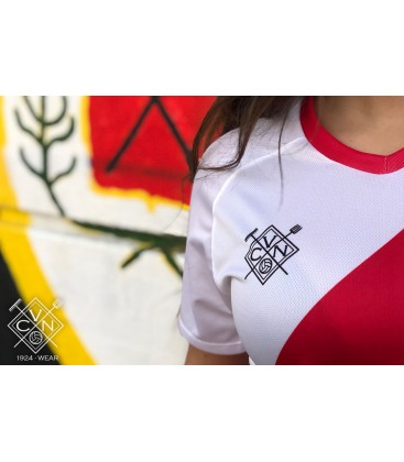 Camiseta Franjirroja temporada 2018/19 - VCN