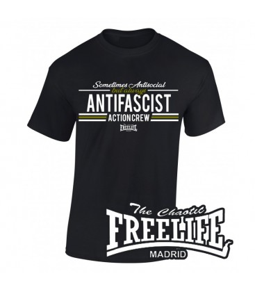 Camiseta Always Antifascist - FREELIFE