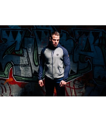 Full Face Hoodie Hool Navy/Grey - PG WEAR