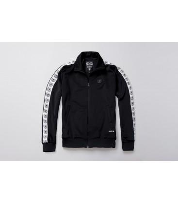 Retro Jacket Supreme Black - PG WEAR