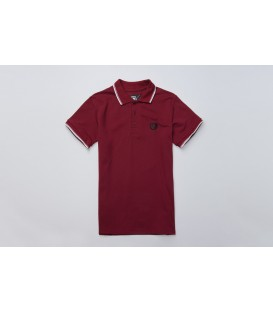 Polo Laurel Maroon - PG WEAR