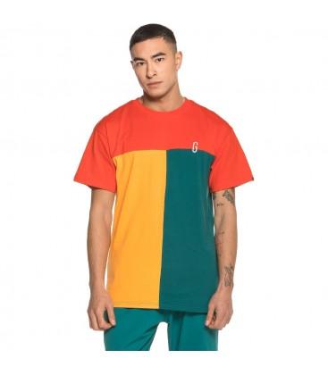 Camiseta Grimey Midnight Tricolor Tee SS19 Red - GRIMEY