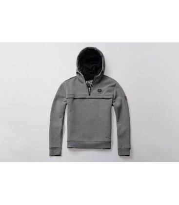 Full Face Hoodie Frontliner Grey - PG WEAR
