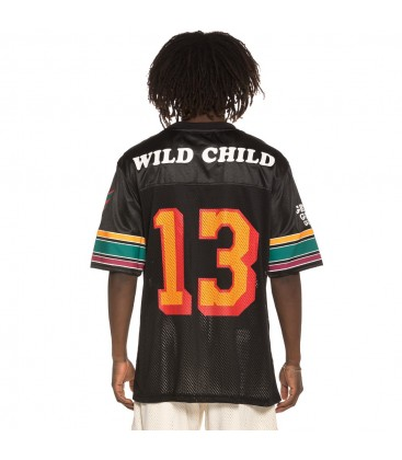 Camiseta Football Grimey Wild Child SS19 black - GRIMEY