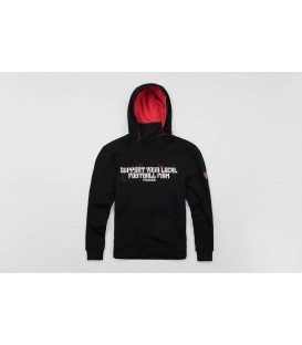 "Mask Hoodie ""Support Your Locals"" - PG WEAR"