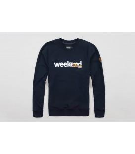 """Sweatshirt """"Weekend"""" Navy - PG WEAR"""